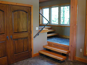 Samuelson Timberframe Design - timber stairs