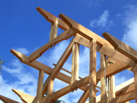Samuelson Timberframe Design - timberframe trusses