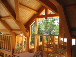 Samuelson Timberframe Design - timber frame resort designs