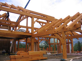 Samuelson Timberframe Design - heavy timber construction