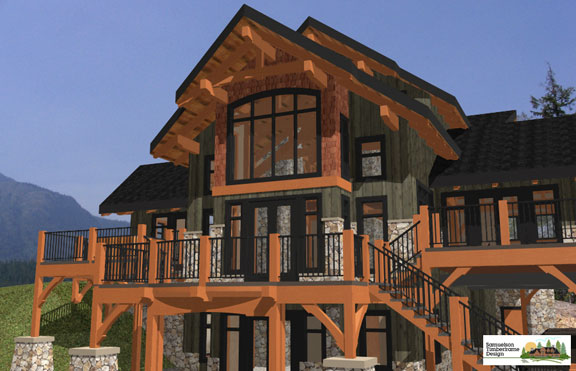 Delicieux Samuelson Timberframe Design