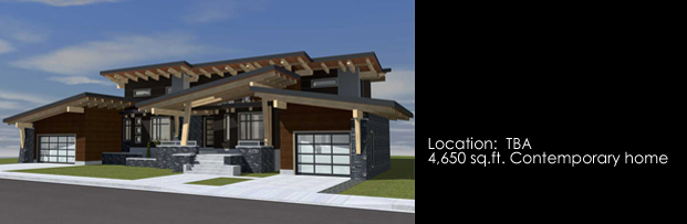 Samuelson Timberframe Design - West Coast Contemporary Style Timberframe home design DIRTT Residential/Timber Frame Group