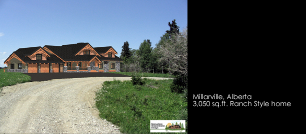 Samuelson Timberframe Design - Calgary, Alberta ranch timber frame