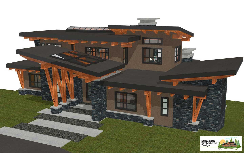 Samuelson Timberframe Design - Slave Lake, Alberta
