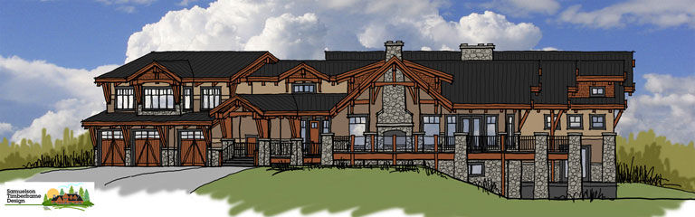 Samuelson Timberframe Design - Country Timberframe