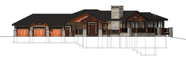 Samuelson Timberframe Design - Timberframe elevations