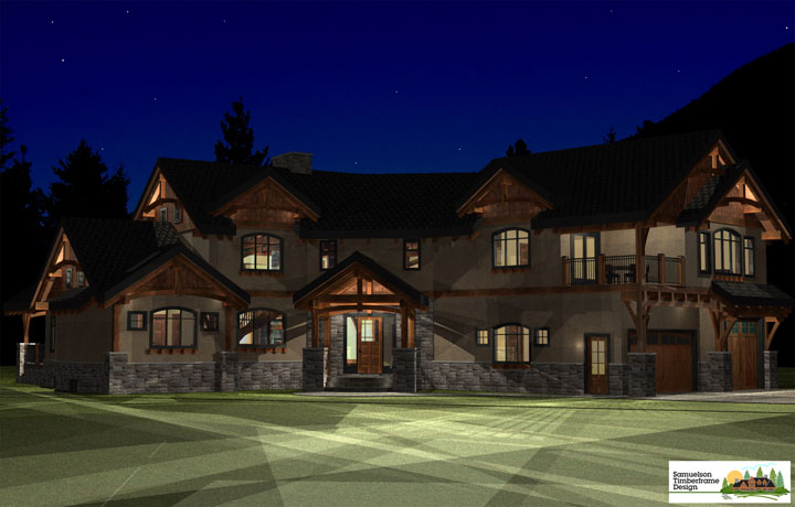 Samuelson Timberframe Design - Timber Frame Homes