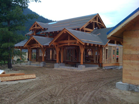 Samuelson Timberframe Design - Craftsman timber frame